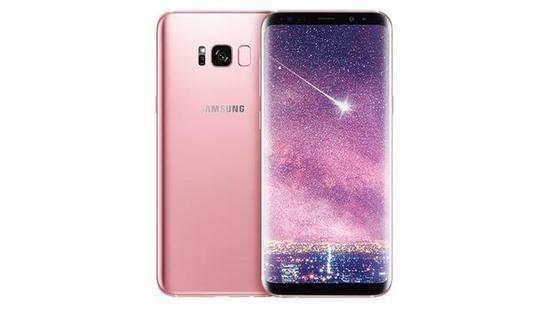 玫瑰粉三星Galaxy S8登录欧洲 价格感人