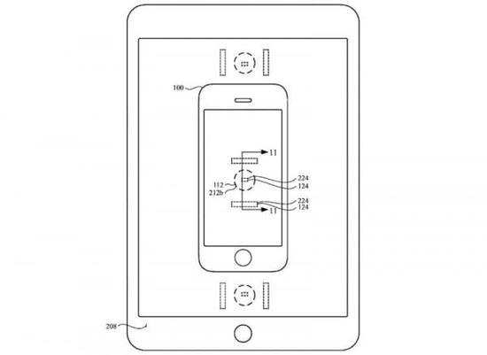 无线充电感应技术图