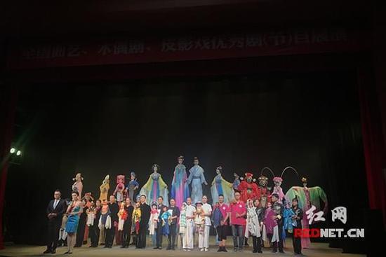 湖南木偶皮影亮相全国曲艺,木偶剧,皮影戏优秀剧(节)目展演