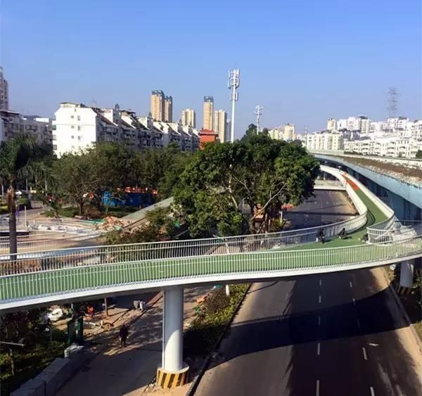 全国首条空中自行车道建成 全长7.6公里的照片 - 14
