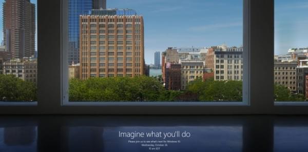 新品Surface将亮相?微软确认10月26日开发布会的照片