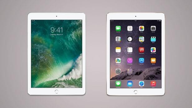 2017年款iPad和iPad Air 2规格参数对比