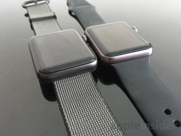 前后两代Apple Watch真机上手对比的照片 - 5