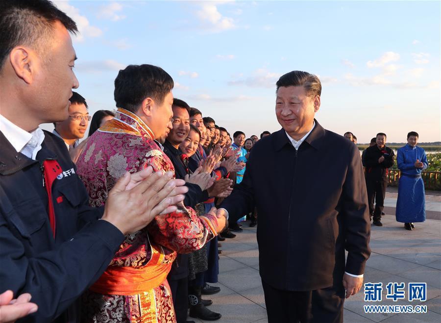 (时政)(11)习近平在东北三省考察并主持召开深入推进东北振兴座谈会