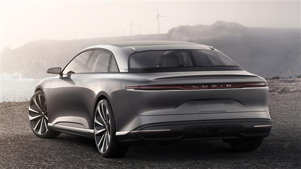 贾跃亭投资的Lucid Motors豪华电动汽车官图公布的照片 - 3