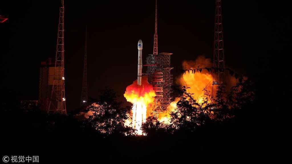 北斗三号系统首颗地球静止轨道卫星成功发射