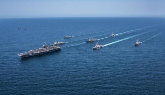 新媒:美军朝鲜半岛军演自划底线 避免进入黄海刺激中国