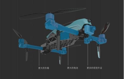 无距科技推出矢量多旋翼无人机 开启全方位精准巡检新方向