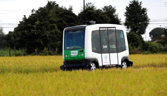 司机不够用 日企在农村测试自动驾驶帮老年人出行