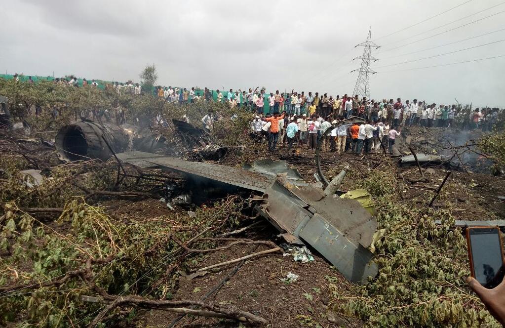 印度一架苏30MKI战机试飞中坠毁 系印度国内组装