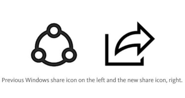 "Windows 10 build 15031 迎来了更加直观的全新""分享""图标的照片 - 2"