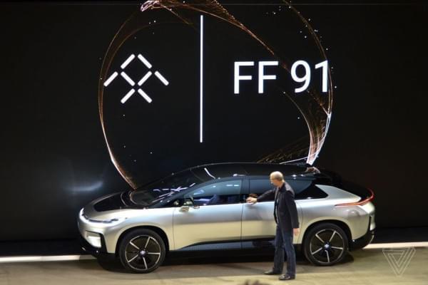 法拉第发量产汽车FF91 贾跃亭称能代替所有车型的照片 - 22