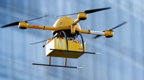 无人机2020年开始送快递?不过还有很多障碍需克服的照片