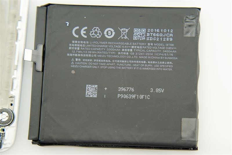 魅族Pro 6 Plus拆解评测的照片 - 24