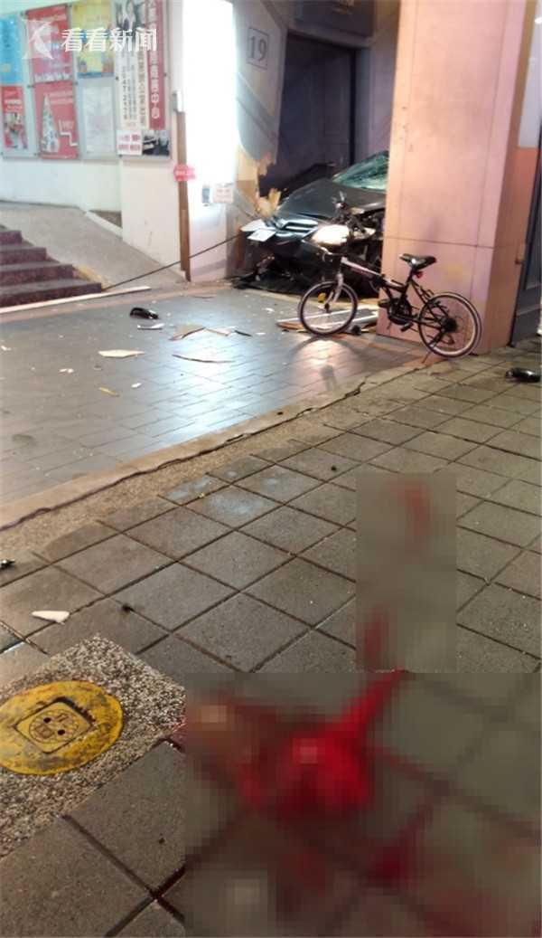 闹市区无证飙车撞死3人 驾驶员叫嚣:我黑道混的