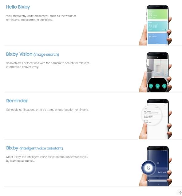 三星官网偷跑Galaxy S8说明书:海量新功能确认的照片 - 2