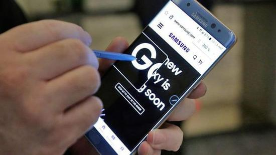 """韩联社:三星停产Note7 中国区回应称""""没有听说""""的照片"""