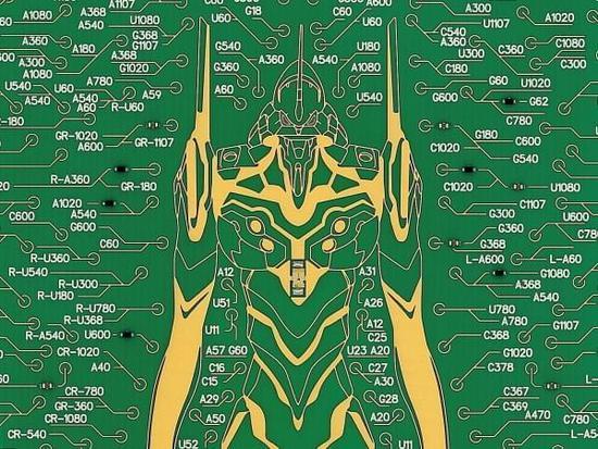 电路板风格科幻感十足