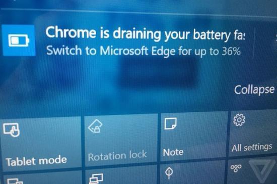 继跳窗后微软在通知中推荐用户使用Edge的照片