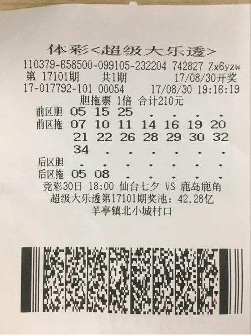 技术玩家210元胆拖中奖555万 追号仅10期