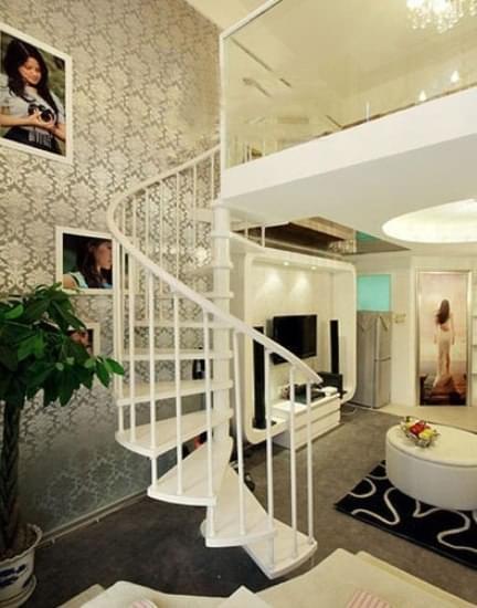 30平LOFT风格小公寓 缔造现代大气之风