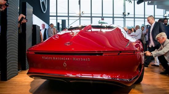 迈巴赫轿跑概念车 – Mercedes-Maybach 6实拍的照片 - 7