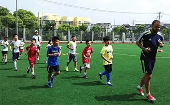 上海美高-皇马青少年足球训练营招生启动
