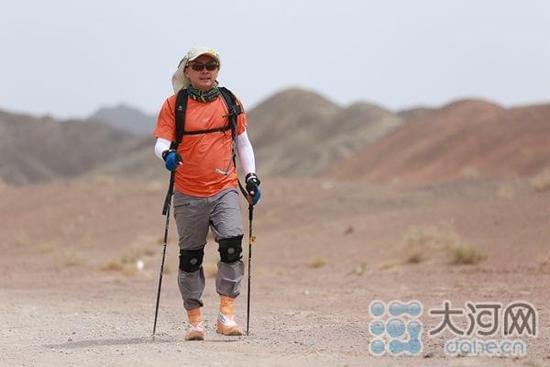 黄河徒步挑战赛发起人常波:生活不只是眼前的苟且 还有远方