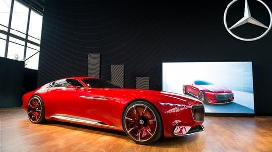 迈巴赫轿跑概念车 – Mercedes-Maybach 6实拍的照片 - 5