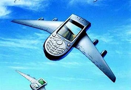 飞机上打手机和上网一样也不再是什么难