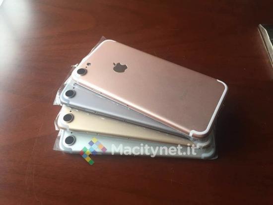 iPhone 7四色齐亮相 电池或增至1960mAh的照片