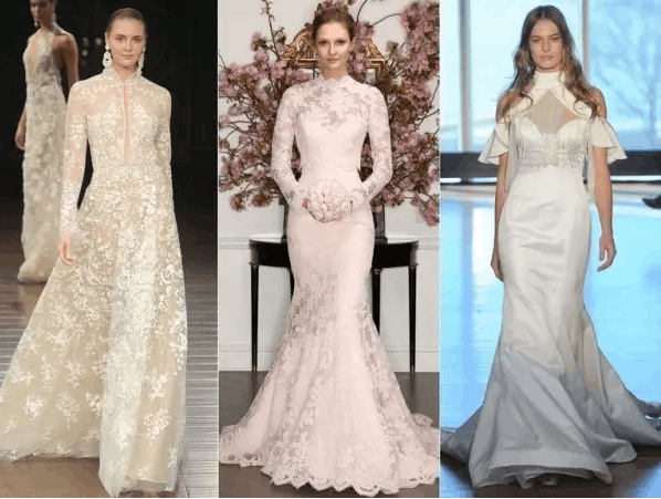 2017春季婚纱流行系列 时尚的婚纱礼服