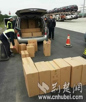 非法运输卷烟2100条 两司机被刑事拘留