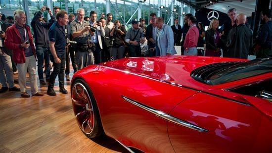 迈巴赫轿跑概念车 – Mercedes-Maybach 6实拍的照片 - 14