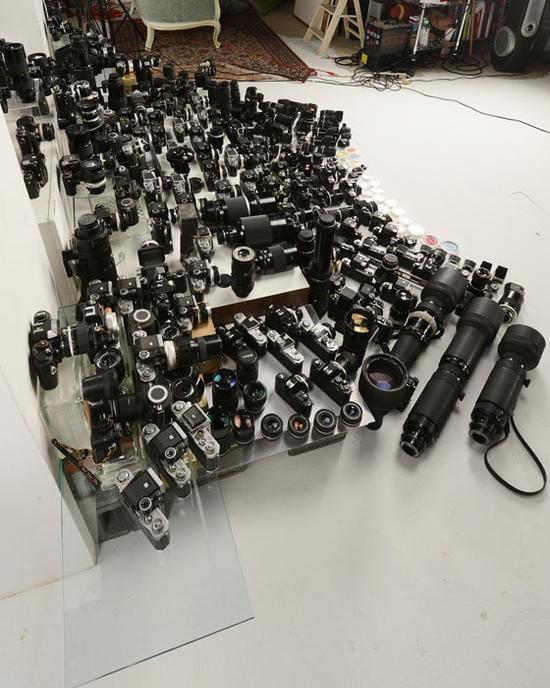 见识何为铁粉 摄影师尼康器材总价超八十万元的照片 - 4