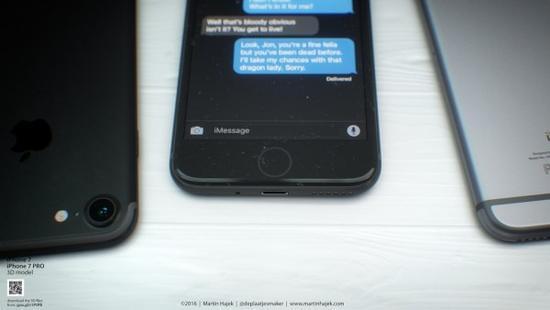 无耳机端口和电容Home按键的iPhone 7或许长这样的照片 - 5