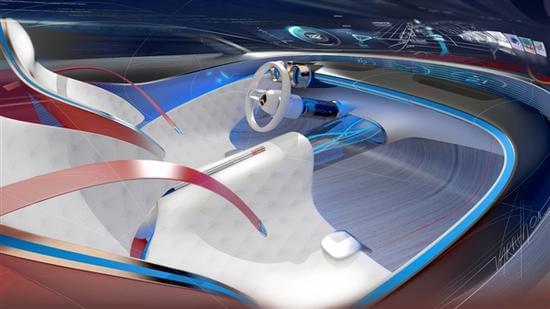 迈巴赫轿跑概念车 – Mercedes-Maybach 6实拍的照片 - 16