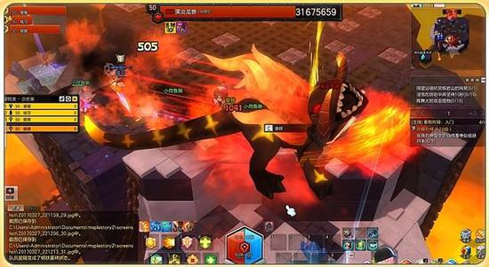 十人的战斗 冒险岛2黑炎龙兽副本攻略第一弹