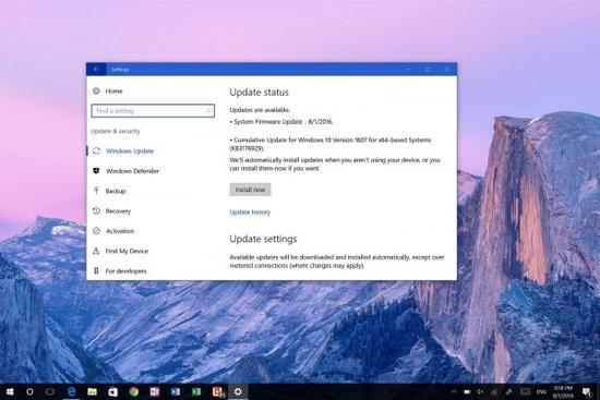 累积更新KB3176929发布:Windows 10版本升至14393.10的照片 - 1