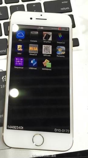 还没见过iPhone 7开机 现在它终于亮了第1张图