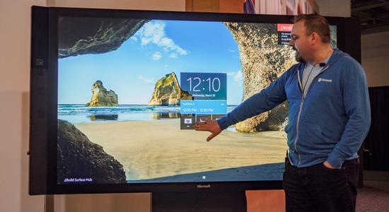 8999美元起价 Surface Hub销量超预期