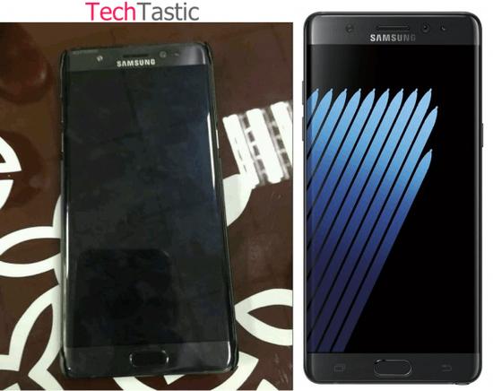 约合5777.6元:Galaxy Note 7售价信息曝光的照片