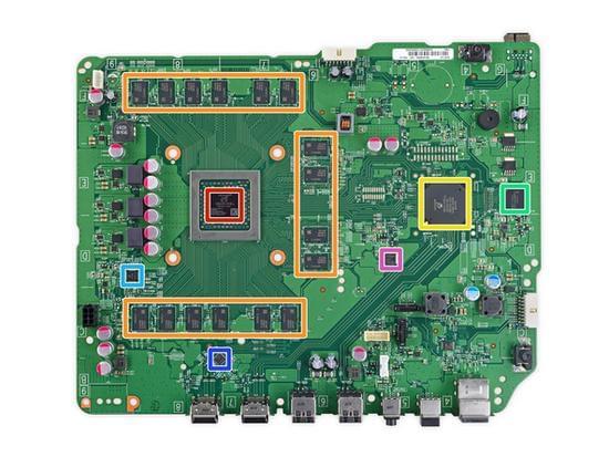 Xbox One S拆解:易于维修的照片 - 37