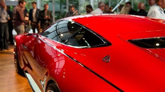 迈巴赫轿跑概念车 – Mercedes-Maybach 6实拍的照片 - 15