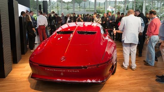 迈巴赫轿跑概念车 – Mercedes-Maybach 6实拍的照片 - 6