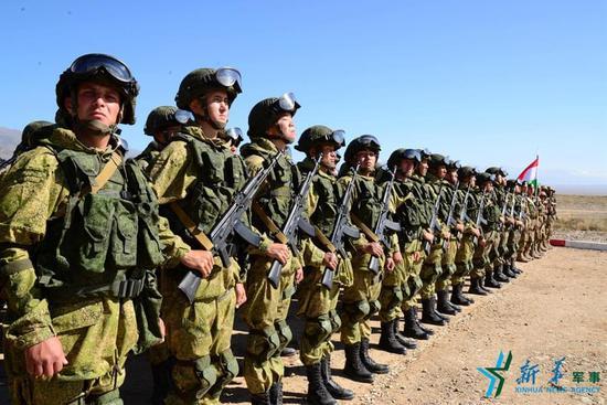 俄罗斯军队   哈萨克斯坦军队   吉尔吉斯斯坦反恐分队   吉尔吉斯斯坦国