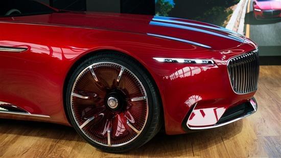 迈巴赫轿跑概念车 – Mercedes-Maybach 6实拍的照片 - 9