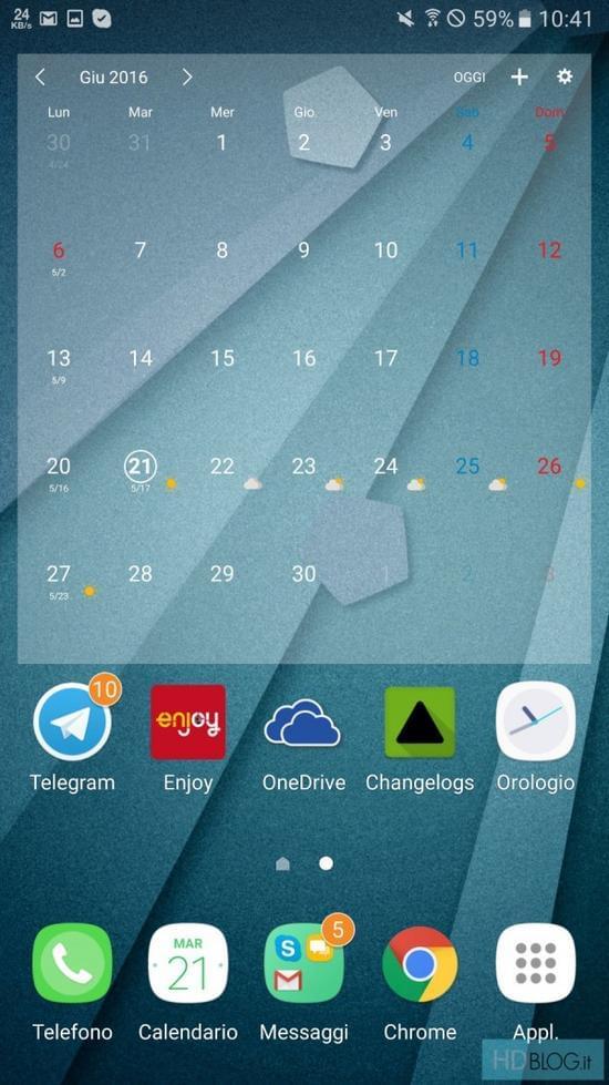 Galaxy Note7全新TouchWiz UX用户界面曝光的照片 - 2