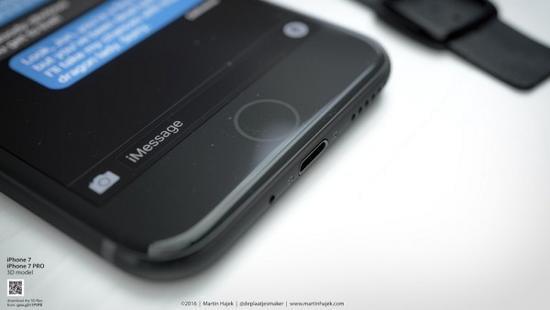 无耳机端口和电容Home按键的iPhone 7或许长这样的照片 - 10
