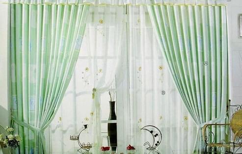 窗帘选购,窗帘材质,遮光窗帘,青岛业主装修,窗帘风格搭配